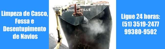 limpeza e higienização de navios e outras embarcações rio grande porto alegre são josé do norte rs