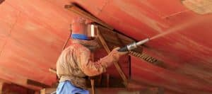 hidrojateamento de casco de navio rio grande porto alegre