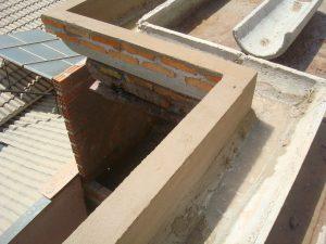 calha de alvenaria concreto cimento advento desentupidora porto alegre calhas
