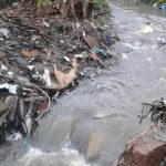 lixo acumulado em córregos de porto alegre