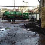 Limpeza industrial, desentupimento e transporte de resíduos