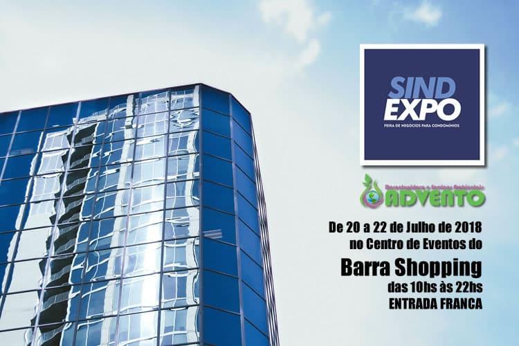a advento participará da Sindexpo 2018 Porto Alegre no Barra Shopping