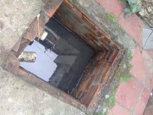 Sucção de caixa de passagem de esgoto em porto alegre