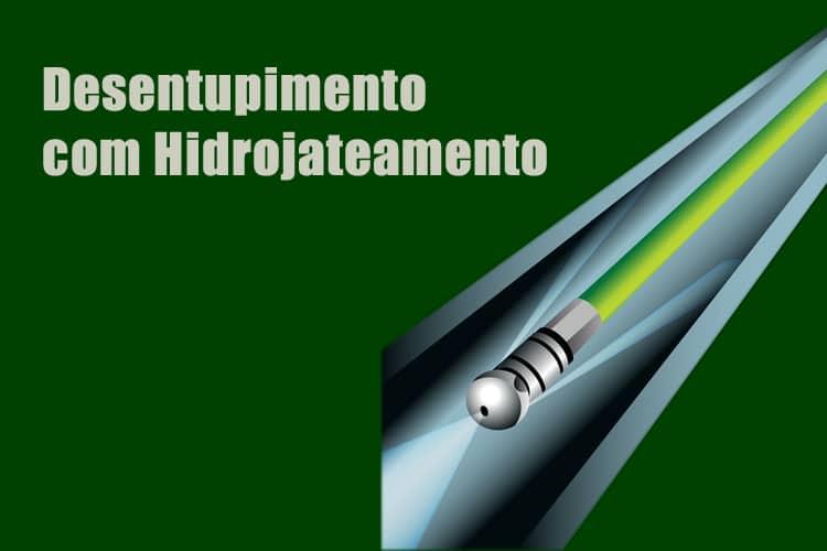 desentupimento de tubulação de esgoto com hidrojateamento
