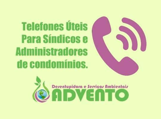 telefones úteis de porto alegre para síndicos e condomínios