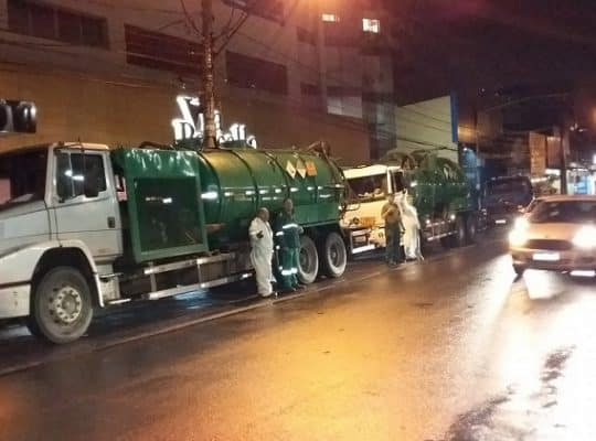 prestadora de serviços de limpeza de esgoto comercial em porto alegre e região metropolitana