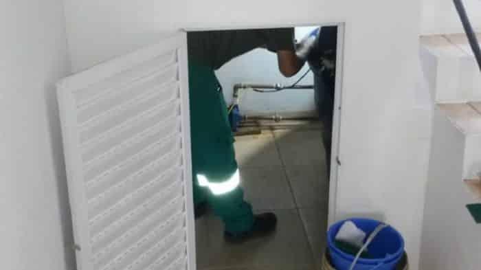 manutenção preventiva de esgoto